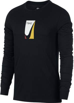 Nike SB Color Block Long-Sleeve T-Shirt - Men's