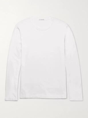 James Perse Cotton-Jersey T-Shirt - Men - White
