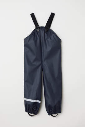 H&M Rain Pants with Suspenders - Blue