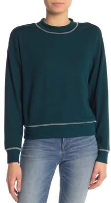 June & Hudson Stitch Detail Sweater