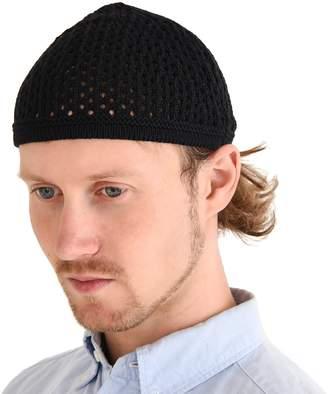 Charm Casualbox Knit Cotton Skull Cap Kufi Islam Prayer Hat Crochet Mesh Skully Beanie