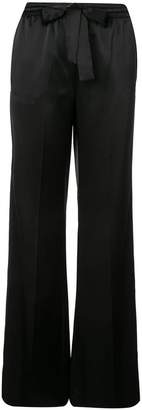 Schumacher Dorothee bow tie palazzo pants
