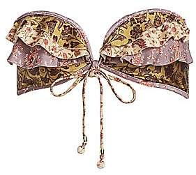 Zimmermann Women's Juniper Bandeau Bikini Top