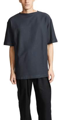Lemaire Boat-Neck Short Sleeve Tee
