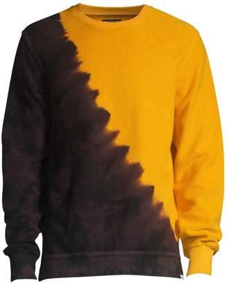 PRPS Two-Tone Tie Dye Sweatshirt