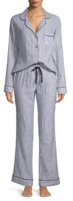 UGG Raven Stripe Two-Piece Pajama Set