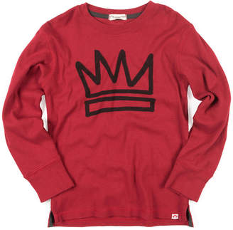 Appaman King Crown Graphic Cotton Jersey Top, Size 2-10