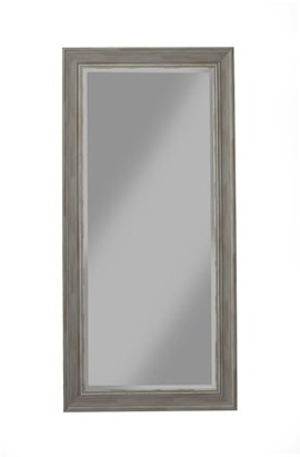 Martin Svensson Home Antique Grey Farmhouse Full Length Leaner Mirror