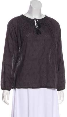 Hartford Embroidered Long Sleeve Top w/ Tags