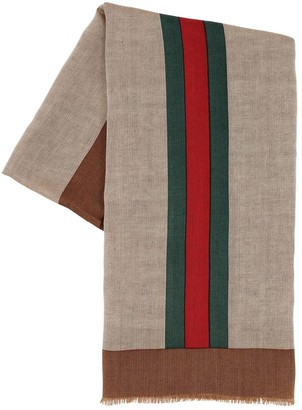 175fc8e86 Gucci Green Men's Scarves - ShopStyle