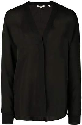 Vince concealed button cardigan