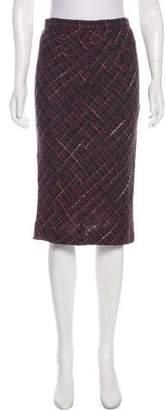 Dolce & Gabbana Wool Tweed Skirt