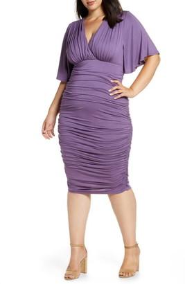 Kiyonna Rumor Ruched Body-Con Dress