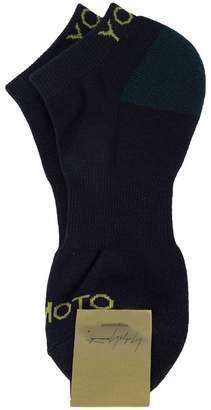 Yohji Yamamoto logo short socks