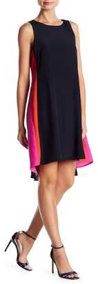 Vince Camuto Hi-Lo Colorblock Shift Dress