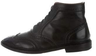 Allen Edmonds Brogue Wingtip Ankle Boots