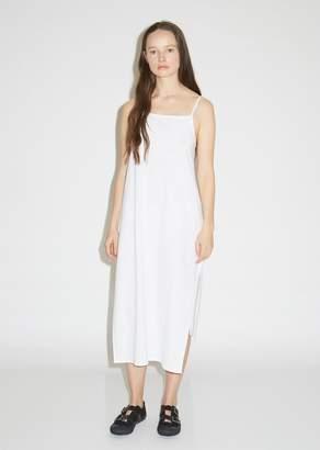 Y's Cotton M-Slit Slip Dress