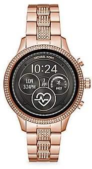 Michael Kors Women's Runway Stainless Steel Touchscreen Smart Watch