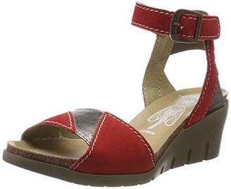 f77877dfe91e Fly London Women s IMAT455FLY Ankle Strap Sandals