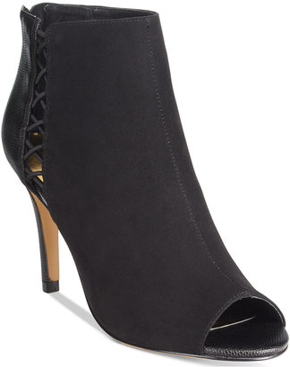 Thalia Sodi Kaarmen Side Cut-out Peep-Toe Shooties, Only at Macy's $79.50 thestylecure.com