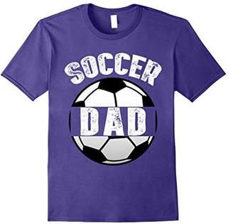 Mens Mens Soccer Dad T-Shirt Funny Father Gift TShirt
