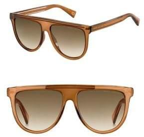 Marc Jacobs 57MM Aviator Sunglasses