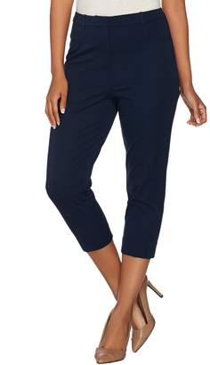 Susan Graver Coastal Stretch Capri Pants