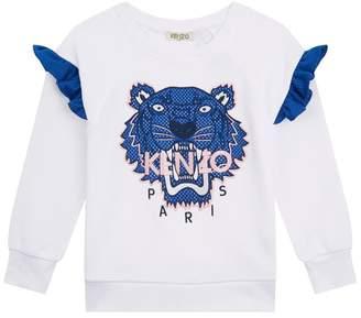 Kenzo Tiger Ruffle Sweater