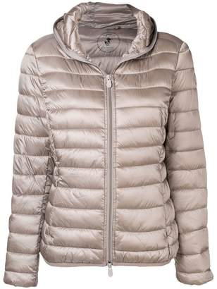 Save The Duck hooded quilted jacket