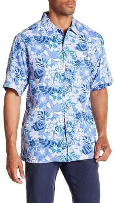 Tommy Bahama Subtropical Palm Short Sleeve Print Original Fit Shirt