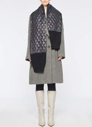 Tibi Soft Quilting Knit Sleeve Scarf