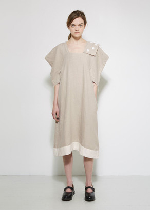 Comme des Garçons Comme des Garçons Linen Dress $550 thestylecure.com