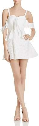 Finders Keepers Kindred Cold-Shoulder Mini Dress