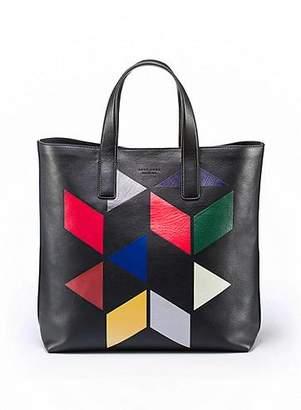 HUGO BOSS An Eames Celebration printed leather tote
