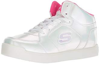 Skechers Girl's Energy Lights: E-Pro Pearl Princess Hi-Top Trainers,(34 EU)