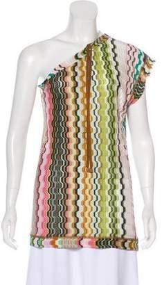 Missoni One-Shoulder Knit Top