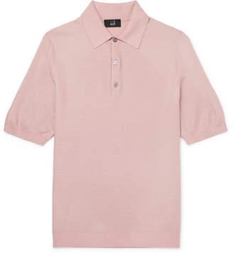 Dunhill Silk-Mesh Polo Shirt
