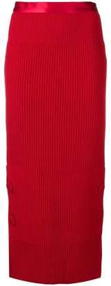 Maison Flaneur knitted skirt