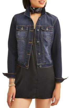 Miss Selfie Junior's Basic Denim Jacket