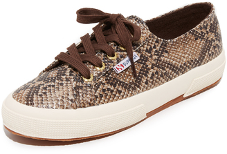 Superga 2750 Cotu Snake Sneakers $79 thestylecure.com