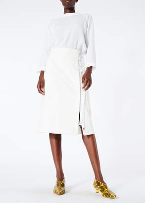 Tibi Anson Stretch A-Line Skirt