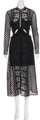 Self-Portrait Payne Cutout Dress