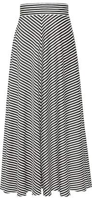 Banana Republic Stripe Maxi Skirt