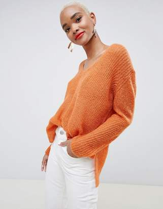 Minimum Moves By v neck sweater