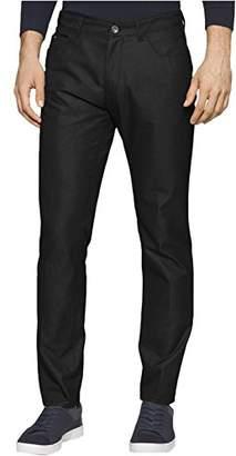 Calvin Klein Men's Slim Fit 5-Pocket Dobby Texture Pant