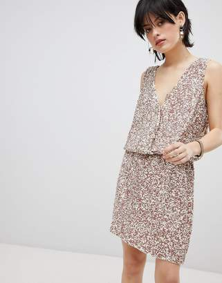 Deby Debo Horus Sequin Embellished Dress