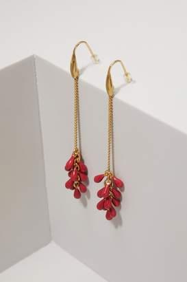 Isabel Marant Dangling pearl earrings
