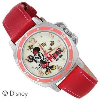 Disney (ディズニー) - Disney ディズニー カラフルベゼルウォッチ 人気の可愛いキャラクター腕時計 ミニー WD-C01-MN