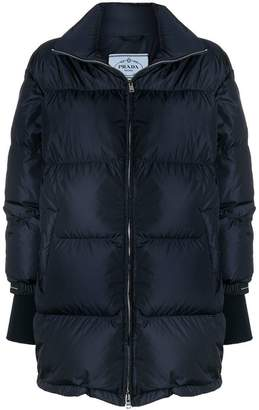 Prada oversized puffer coat