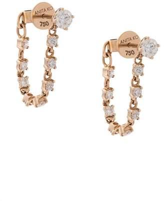 Anita Ko rope hoop earrings